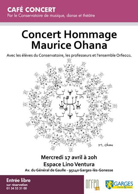 Concert Hommage à Maurice Ohana